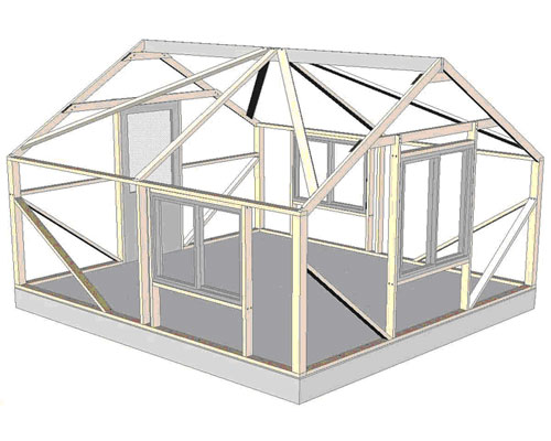 Bungalow Assembly Step 5
