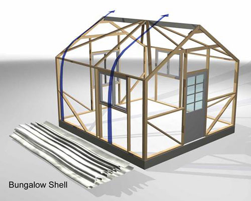 Bungalow Assembly Step 6