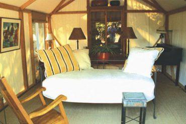 Luxury Cabin Tent interior