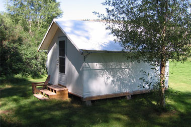 Portable Buildings are easy to relocate